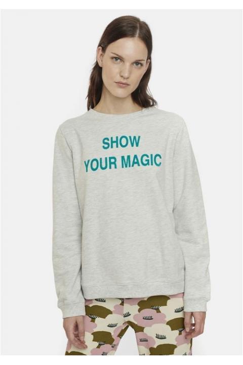 SUDADERA GRIS SHOW YOUR MAGIC